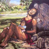 SL_Paintings 12_Serenite 18 X24 Oil on canvas 1995.jpg
