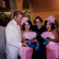 The Scull Sisters with their Son Michael and Barbara Young