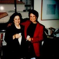 Art Librarians Margarita Cano and Barbara