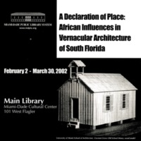 BY_Leaflet_2002_A Declaration of Place - African Influences in Vernacular Architecture in South Florida_p1.jpg