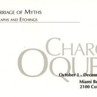 BY_Postcard_2001_Charo Oquet, A Marriage of Myths,  Lithographs and Etchings_p1.jpg